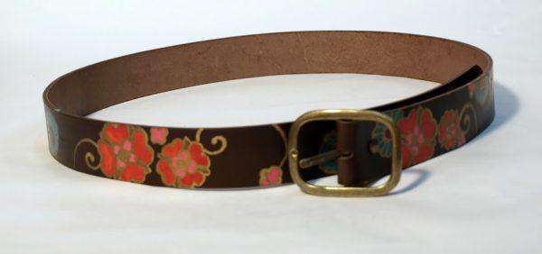 brown leather belt rossymina