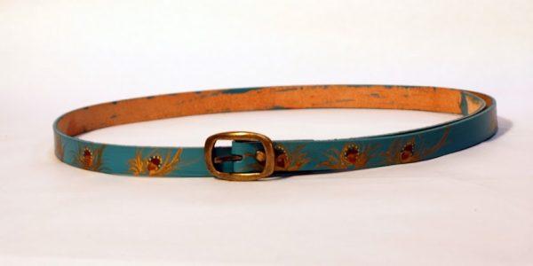 teal belt