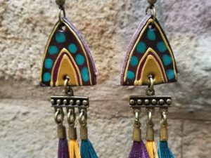 Bereber Earrings with mini Tassels
