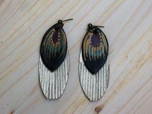 Slim Fringe Earrings