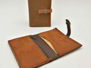 Compact Leather Wallet Barcelona