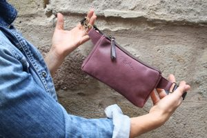 Mauve Rosewood Fanny Pack