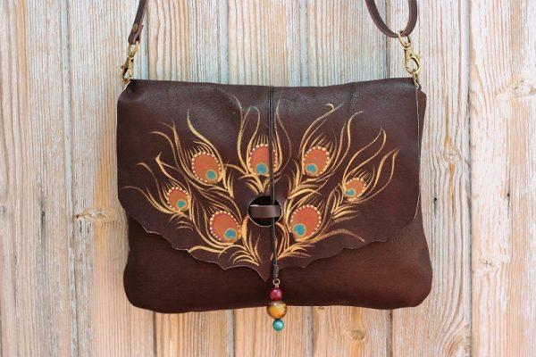 brown bag peacock