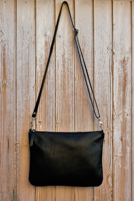 zip black bag