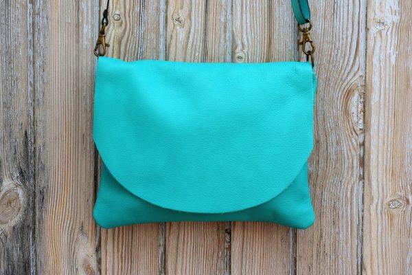 teal bag