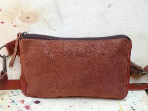 Shiny Brown Fanny pack or belt bag