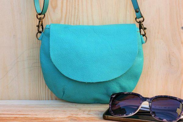 teal round bag rossymina