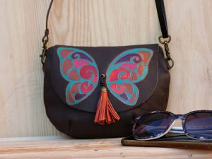 Small bag with Butterfly design