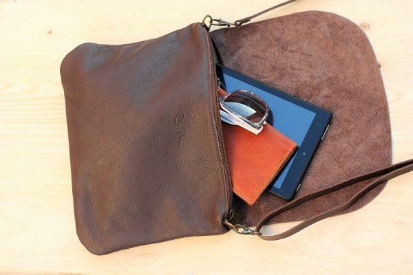 brown bag open