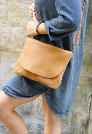 Tan Color Leather Bag