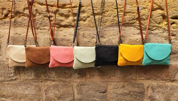 small leather bags Rossymina