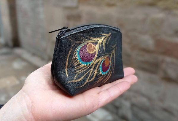 coin purse black