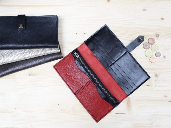 large wallet red rossymina