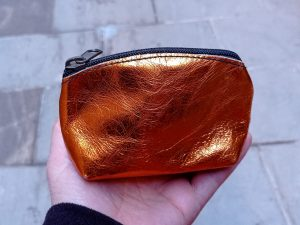 Shiny Leather Change purse