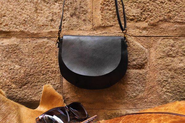 small round bag